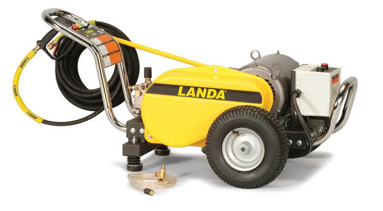 Landa Pe Portable Electric Powered Cold Water Pressure
