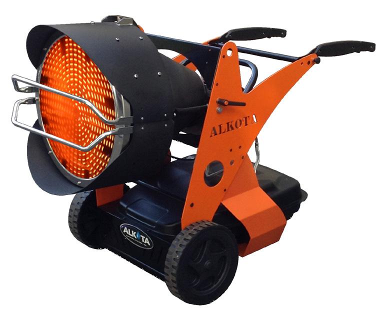 Alkota Rh150 Infrared Heater Gilbert Sales Amp Services